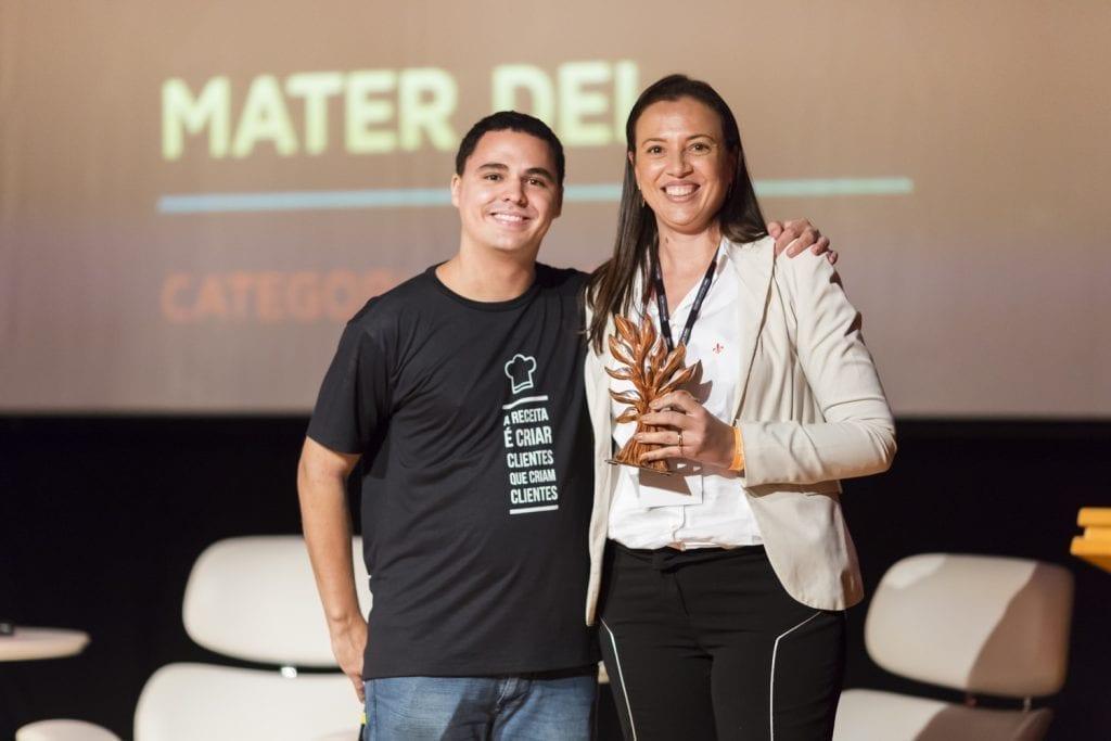 Mater Dei - Prêmio - CX Summit - Satisfação de Clientes - Tracksale